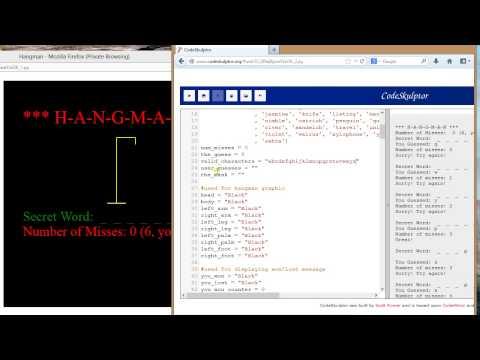 Intro to Python - Hangman