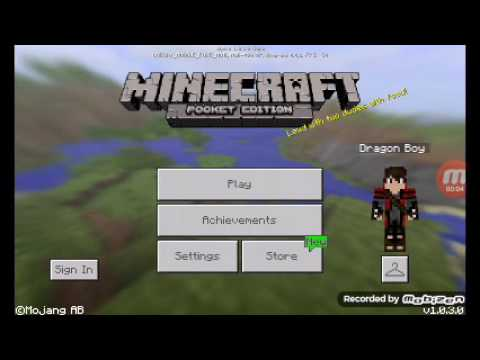 How to make a camping tent in minecraft pe (1.0.3.0)
