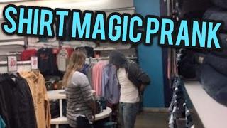 Shirt Magic Prank!