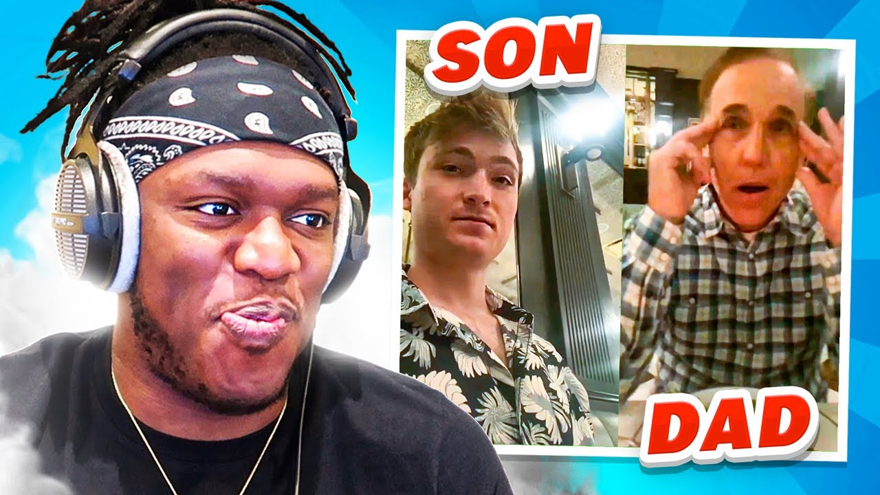 Son Embarrasses Dad (Try Not To Laugh)