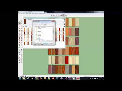 Wood Textures for Sketchup