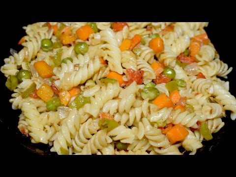 Vegetable Pasta Recipe - Easy and Delicious Pasta Recipe by Kitchen With Amna