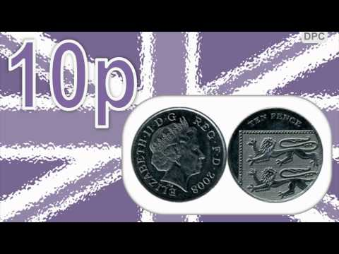British pound sterling: Coins