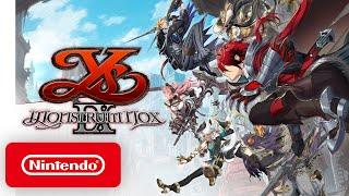 Ys IX: Monstrum Nox - Announcement Trailer - Nintendo Switch
