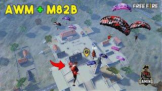 Best AWM and M82B OverPower Ajjubhai Gameplay with Jontybhai - Garena Free Fire