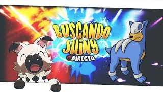 Directo/buscando Al Shiny/ Houndour