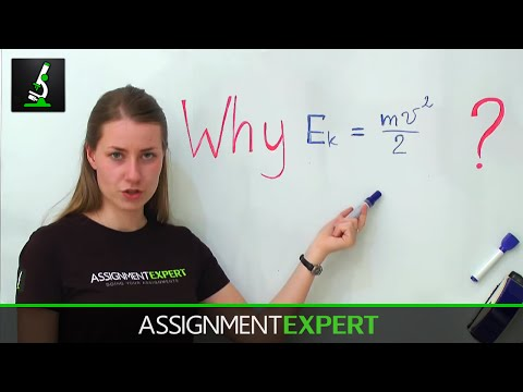 Why kinetic energy equals half mass times velocity squared? Part 1