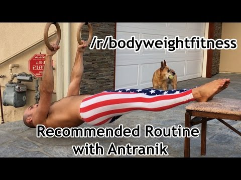 Explanation of the /r/bodyweightfitness Recommended Routine by Antranik