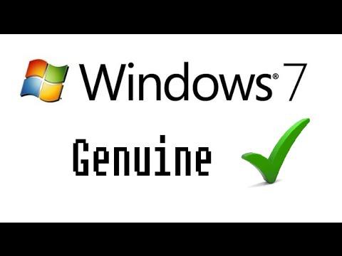 HOW TO MAKE WINDOWS 7 GENUINE