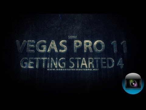 Vegas Pro 11: Getting Started 4 - Using the Trimmer