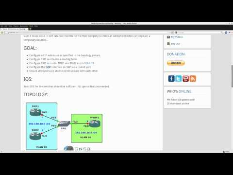Switch SVI Interface and Routing lab on Cisco Catalyst Switch