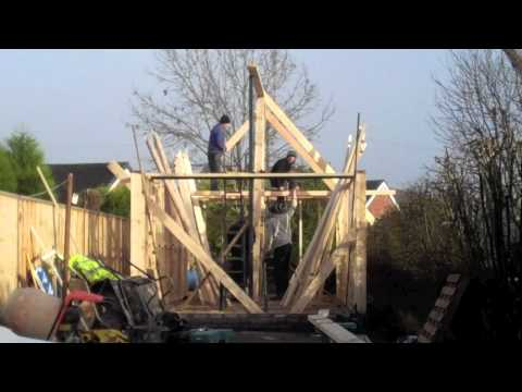 How to build a timber frame Artist Studio - Part 1