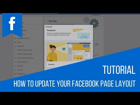 How To Update Your Facebook Page Layout
