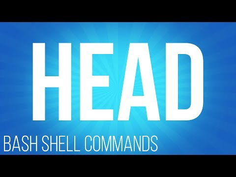 BASH Shell commands head ( commands for linux )