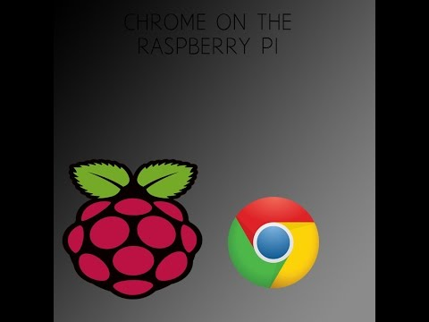how to install Google Chrome (chromium) on the Raspberry pi