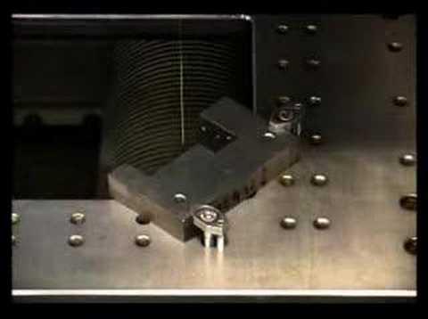 Wire EDM Machine Demonstration