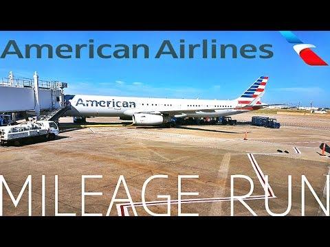 American airlines BUSINESS mileage run ATL-CLT-DFW-AUS