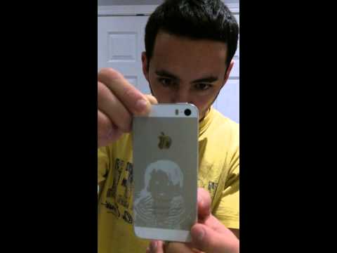 iPhone 5 S Hologram engraving