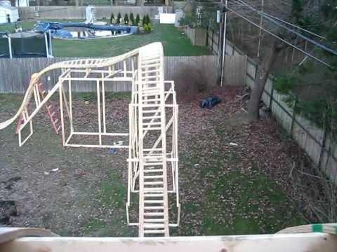My Backyard Roller coaster: Pov 12/13/11