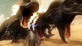 SUPER PENGUIN vs 100 T-REX! - Beast Battle Simulator Gameplay | Pungence
