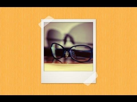 Polaroid photo frame in GIMP 2.8