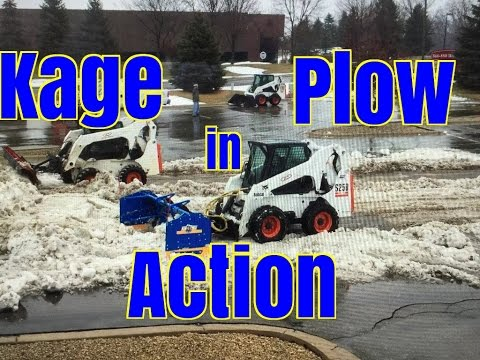 Plow Review Kage Snowplows in Action
