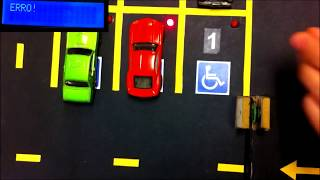 Automatic Car Parking Indicator System using