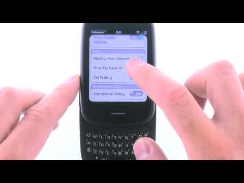 Activate or Deactivate Call Forwarding with the HP Veer: AT&T How To Video Series