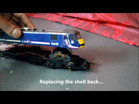 Cleaning & Lubricating Hornby Class 90.