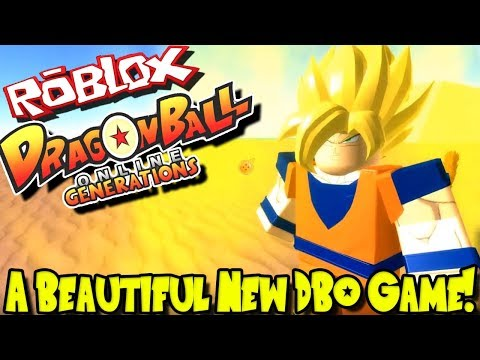 A BEAUTIFUL NEW DRAGON BALL ONLINE GAME! | Roblox: Dragon Ball Online Generations