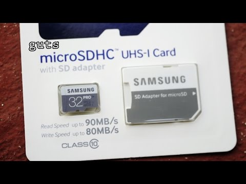 Can a micro SD card, be used in a