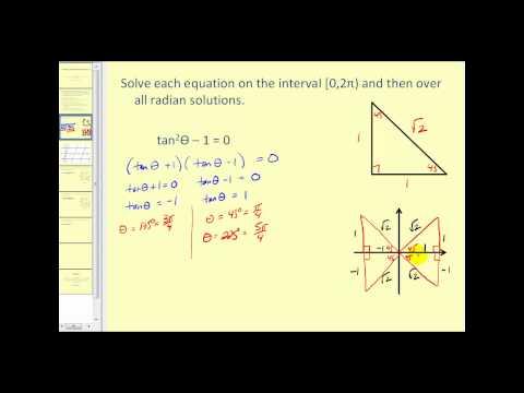 Solving Trigonometric Equations II