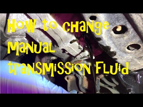 How to change manual transmission fluid in a Honda Project Accord Ep8