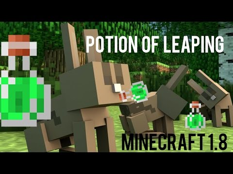 How To Make Potion Of Leaping in Minecraft 1.8