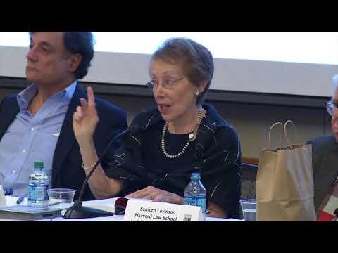 HLS Library Book Talk   Cynthia Levinson and Sanford Levinson,
