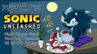 sonic unleashed soundtrack night
