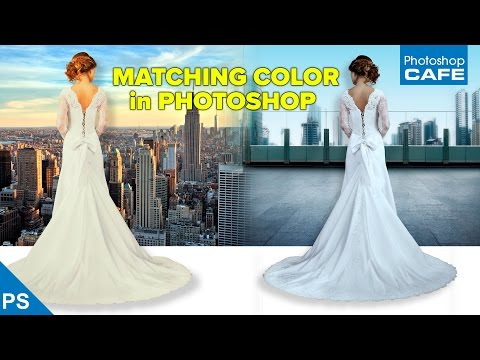 MATCHING COLORS when COMBINING PHOTOS in PHOTOSHOP