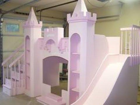 Castle Bed With Slide