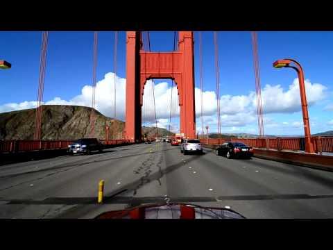 Golden Gate Bridge Drive - Northbound