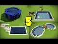 Top 5 Swimming Pool Designs in Minecraft
