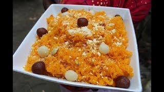 Village Food    Jorda pulao   Eid special   Grandmother recipes-79