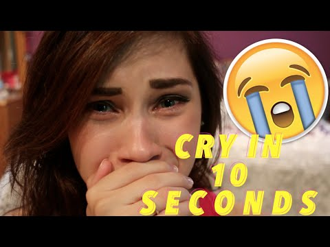 HOW TO CRY IN 10 SECONDS / ACTING TIP | JENNA LARSON