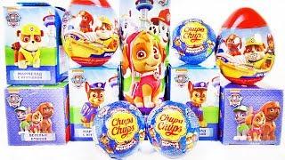 Download ЩЕНЯЧИЙ ПАТРУЛЬ Mix! СЮРПРИЗЫ с игрушками по мультику PAW PATROL Sweet Box, Kinder Surprise unboxing Video