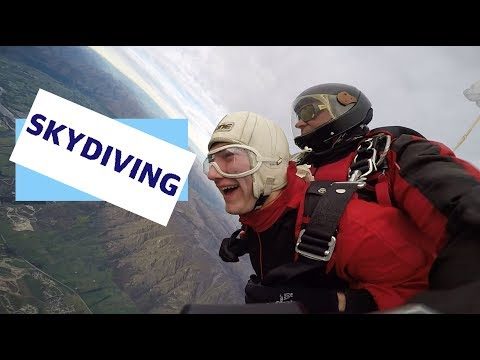 Skydiving in Queenstown!