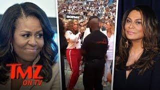 Download Michelle Obama Crazy Dancing At Beyonce Concert! | TMZ TV Video
