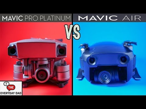 DJI Mavic Air vs DJI Mavic Pro Platinum!  Which is the BEST?!