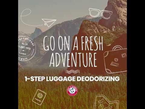 1-Step Luggage Deodorizing