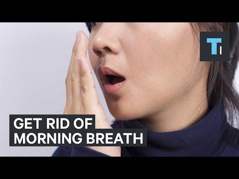 Get rid of morning breath