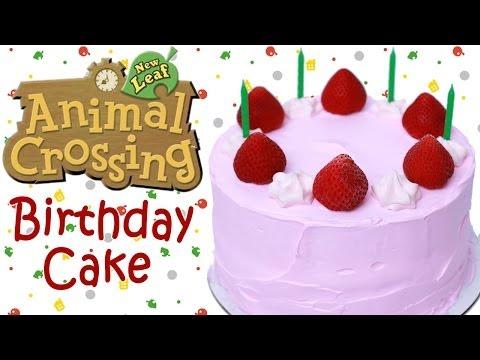 ANIMAL CROSSING BIRTHDAY CAKE - NERDY NUMMIES