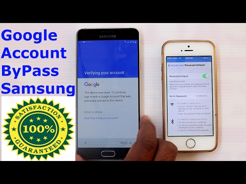 Samsung Google Account By-pass (FRP) Without OTG / PC - 100%